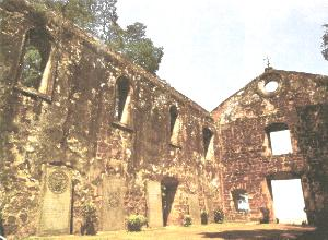 Ruins of St Paul Church